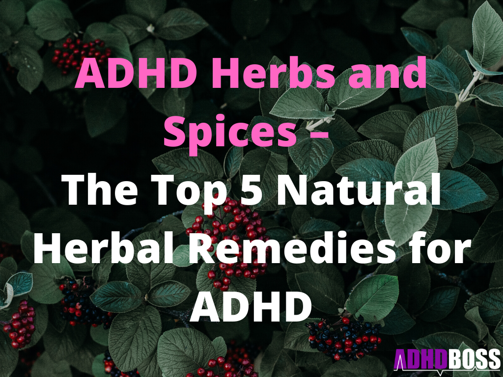 ADHD Herbs and Spices – The Top 5 Natural Herbal Remedies for ADHD