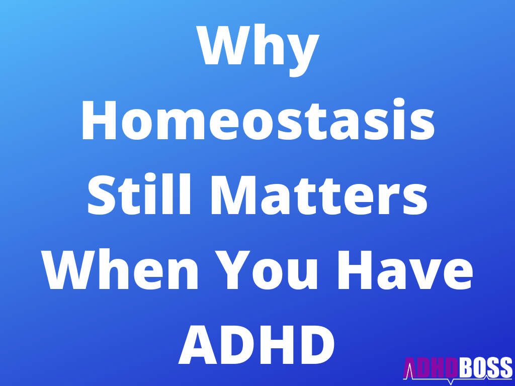 Why Homeostasis Still Matters When You Have ADHD